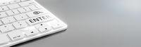 computer keyboard white details