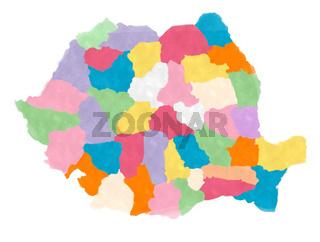Watercolor Romania