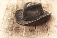 wheathered outback hat