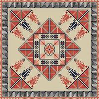 Palestinian embroidery pattern 34