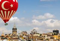 Istanbul Galata Tower Turkey.
