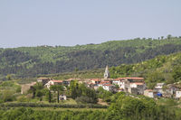 Kostanjica in Istrien