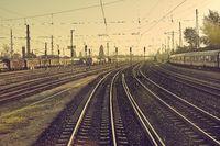 Railway Station Tracks