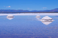Salinas Salitral Grandes, great salt lake desert, near Susques, Jujuy Province, Argentina