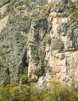 Cliff in Sumidero Canyon Mexico