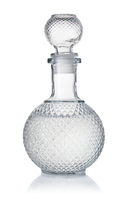 Crystal decanter of vodka