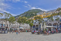 Grand Casemates Square, Crown Colony Of Gibraltar