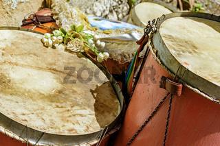 Brazilian ethnic drums