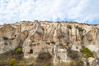 Landscape of Cappadocia in Goreme, Turkey