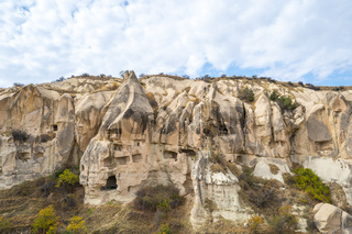 Landscape of Cappadocia in Goreme, Turkey
