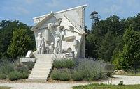 Der Durchbruch - Statue der Europäischen Freiheit,Paneuropäisches Picknick,Fertörakos, Ungarn