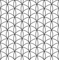 Seamless geometric pattern in style japanese ornament Kumiko