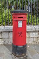 Victorian Post Box, Gibraltar