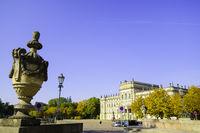 Schlossplatz Ludwigslust, Mecklenburg-Vorpommern Deutschland