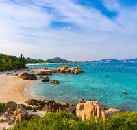 White sand beach. Vietnam.