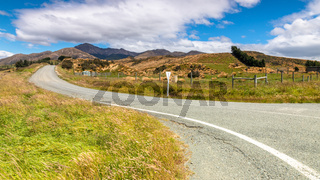 road to horizon New Zealand south island