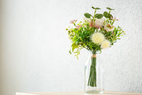 bunch of artificial flowers