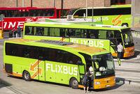 Busterminal mit Flixbussen