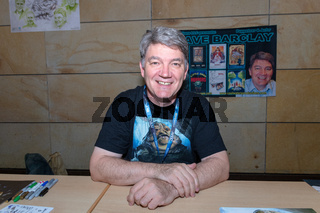 FUERTH, Germany - September 22nd 2018: Dave Barclay at Noris Force Con 5