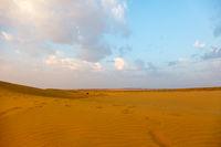 Thar Desert and Blue Sky