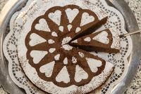 einfache und kalorienarme Torte für Geburtstag oder Muttertag