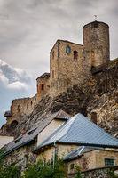 Old castle in the Usti nad Labem