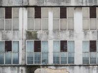 Altes Industriegebäude in Kroatien
