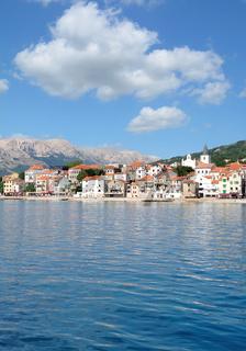 Baska auf der Insel Krk,Adria,Kvarner Bucht,Kroatien