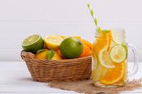 Detox fruit infused water