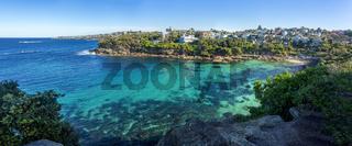 Panoramic views of Gordons Bay Sydney