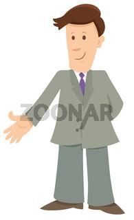 businessman cartoon character illustration