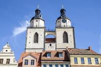 Türme der Stadtkirche Wittenberg