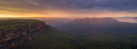 Jamison Valley Blue Mountains Panorama