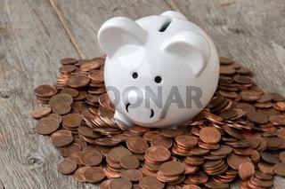 Economy or savings concept
