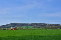 Blick zum Rotstein bei Loebau