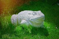 Outdoor Frog Statue