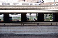 Seitenansicht Personenzug
