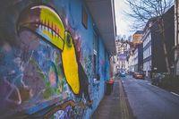 Graffiti Tukan