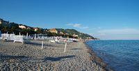Am Strand von Finale Ligure - Ligurien - Italien