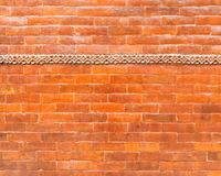Glazed brick wall texture
