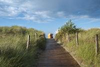 Dünenpassage zum Strand von Heiligenhafen