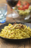 Schwäbische Spätzle ein typisches Nudelgericht