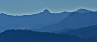 Blick vom Pfänder zum Bregenzerwald mit Damülser Mittagsspitze