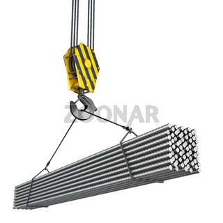 crane hook with fittings
