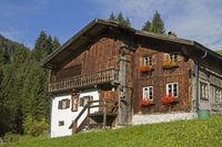 Bauernhaus im Berwanger Tal