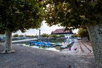 Hafen der Stadt Konstanz am Bodensee