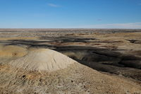 Bisti badlands,New Mexico, USA