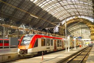 Frankfurt Main Train station Germany