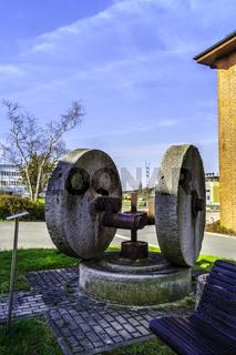 Historisches Mahlwerk, Hermsdorf, Thueringen, Deutschland