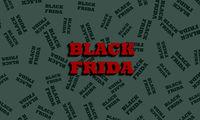 Restrained elegance banner for sales on Black Friday. Vector banner for shops, web.